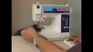 Sewing machine Швейная машина Mini Jaguar 281 japan test шифон, джинс, кожа