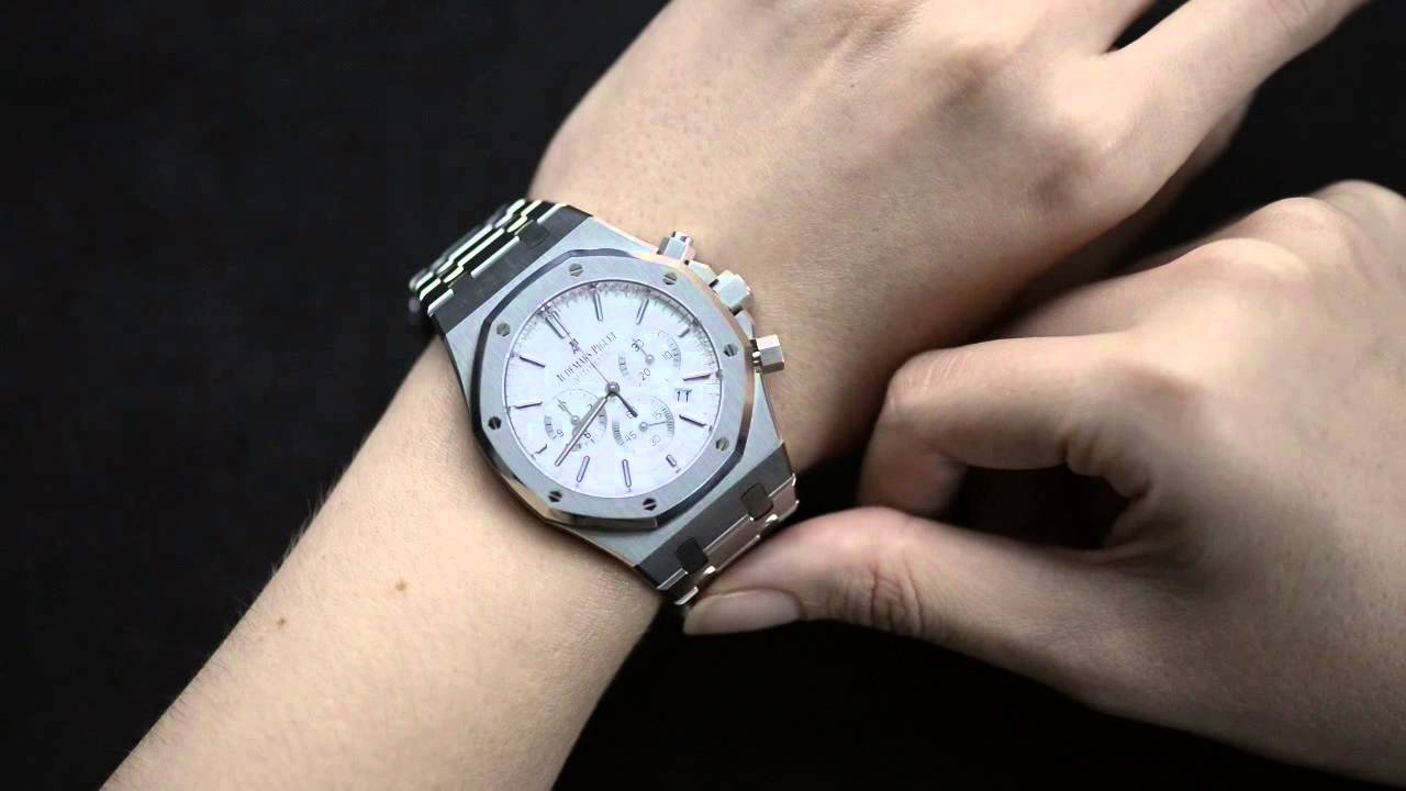 watch audemars out ct mens iced watches royal diamond piguet oak offshore