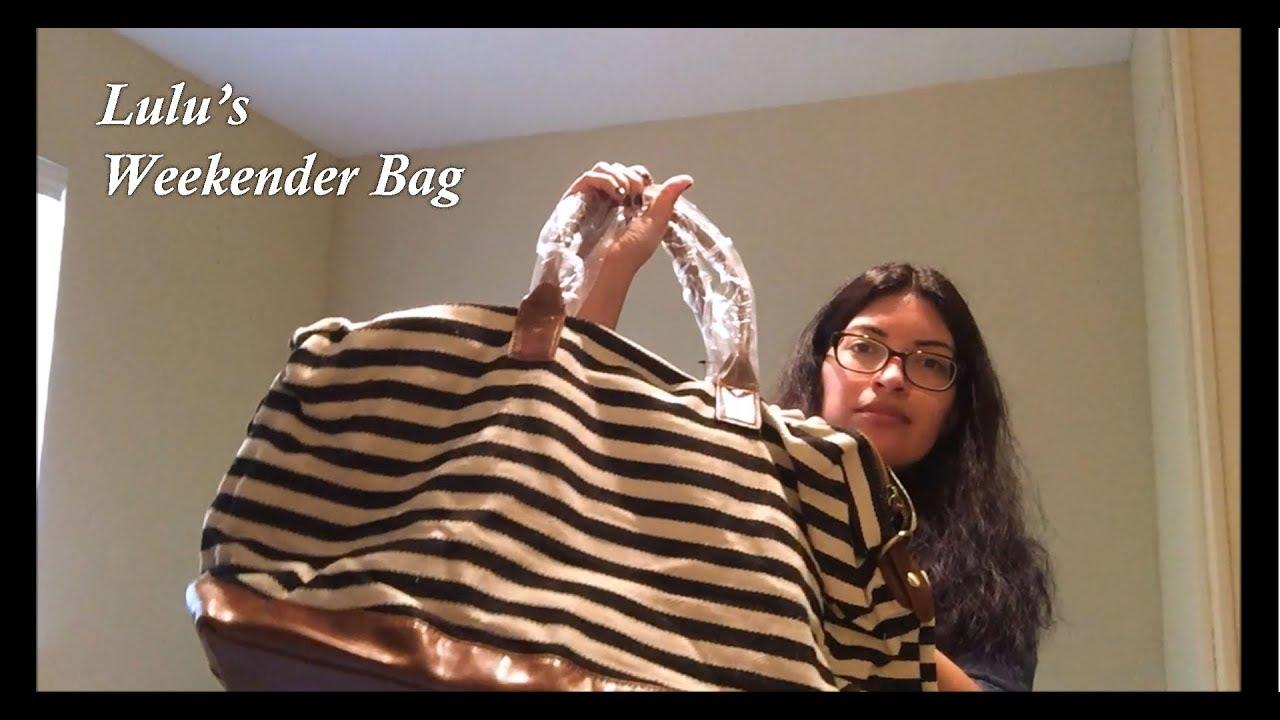363e4fb01209 Lulu s Jet Setter Weekender Bag Review - YouTube