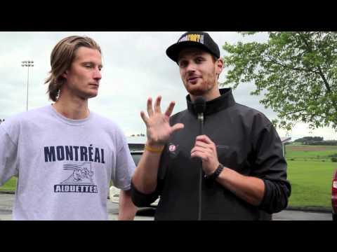 Alouettes CIS initiative | Interview with Reid Quest, QB,Concordia Stingers