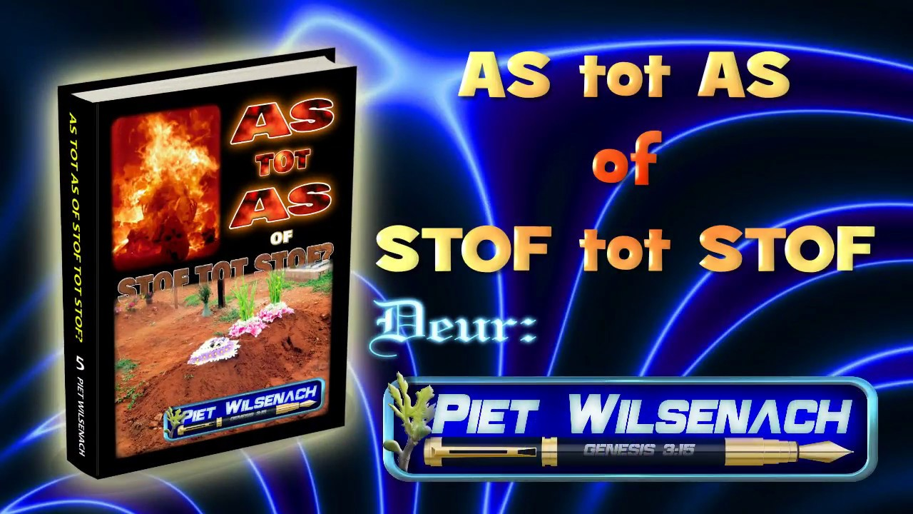 As Tot As Stof Tot Stof Pdf Youtube