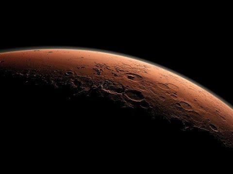 Share Space Mars Map Presentation