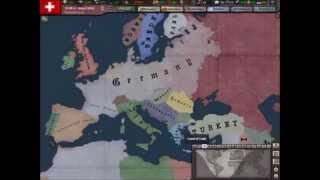 Hearts of Iron 3 Timelapse: Drang Nach Osten