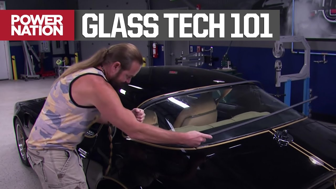 How To Restore, Repair, And Replace Damaged Automotive Glass - Detroit Muscle S1, E17