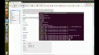 Google Code Jam 2013 - Round 1A Screencast
