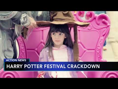 Warner Bros. begins to crackdown on Harry Potter festivals