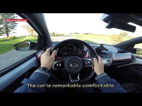 VW up! GTI test