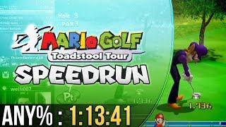 Mario Golf: Toadstool Tour Any% Speedrun 1:13:41