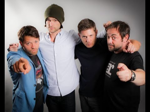 Jared, Jensen, Misha and Mark Sheppard Funny Moments Part 2