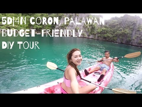 5D|4N Coron, Palawan Budget-Friendly  DIY Tour