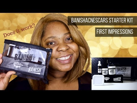 Banishacnescars Starter Kit| Huge Pores, Acne Scarring, Combination to oily skin| Does it work?