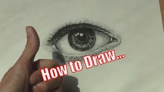 How to Draw a Realistic Eye in 2 Simple Steps