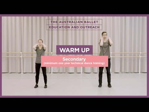 Warm-Up for Secondary Students (dance experience required)