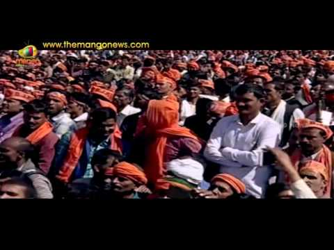 PM Modi About ISRO Record And Surgical Strikes At Public Rally In Uttar Pradesh | Mango News