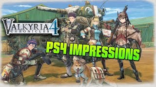 Valkyria Chronicles 4 ➤ PS4 First Impressions!