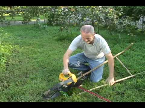 Wheel Hoe Sickle Bar Mower 1st Half Making Youtube