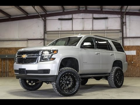 2017 Chevrolet Tahoe 4x4 Lt Lifted For