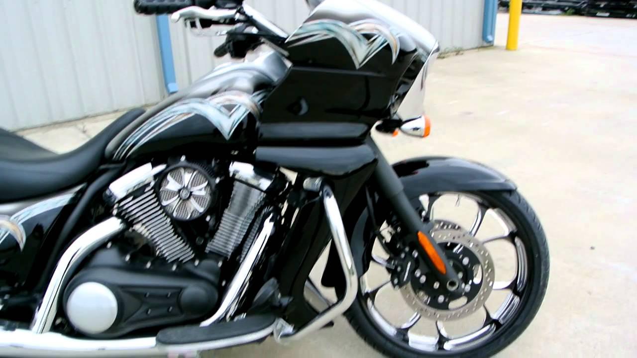 Custom Kawasaki Vulcan 1700 Vaquero Bagger With 21 Front Wheel