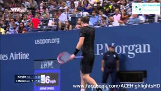 Andy Murray vs Nick Kyrgios  US OPEN 2015