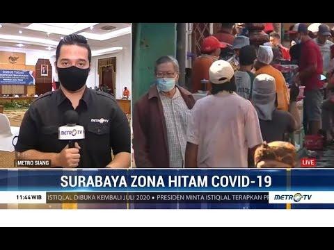 Surabaya Zona Hitam Covid-19