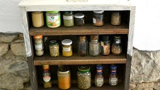 How To Make A Shabby Chic Spice Rack - Diy Home Tutorial - Guidecentral