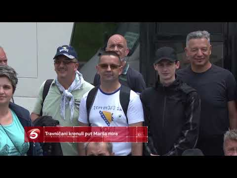 Travničani krenuli put Marša mira