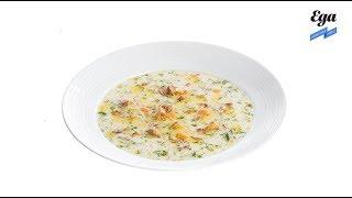Рецепт сырного супа с лисичками. Делаем суп с плавленым сыром