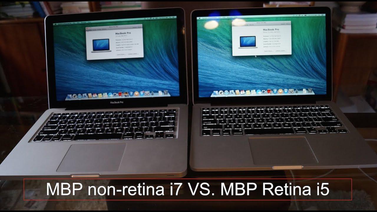 Macbook Pro Retina I5 Vs Non Retina I7 Which Is Better