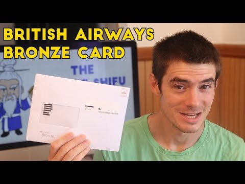 British Airways Bronze Card UNBOXING (Executive Club)