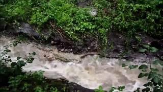 Flash Flood Town of Spring Prairie - Burlington, Wisconsin Walworth 7/12/2017