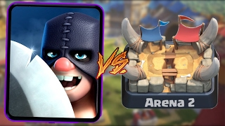 Executioner Trolling Arena 2 in Clash Royale   Funny Moments