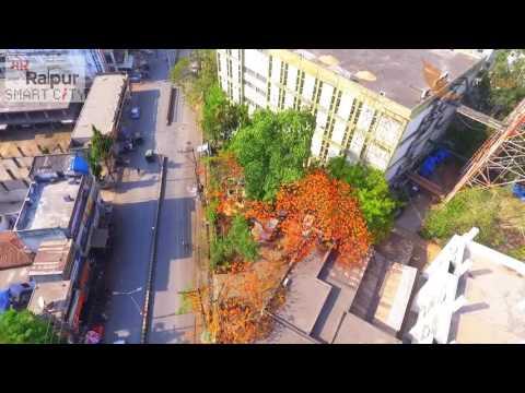 Raipur smart city | Helicam Footage | Raipur