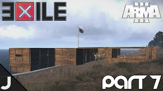 ArmA 3: Exile - Part 7 - New Base Tour + Clan Attack!