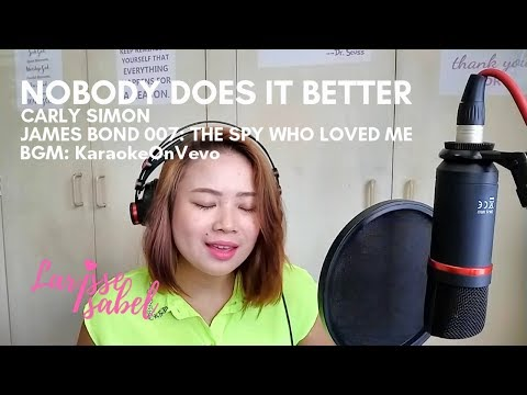 Carly Simon - Nobody Does It Better (James Bond - The Spy Who Loved Me OST) | Larisse Isabel Cover