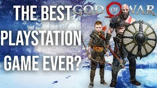 God of War Review PS4 2018  - a PERFECT Game?!