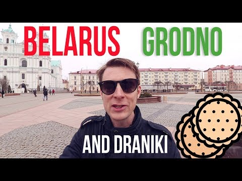 Grodno, Belarus: Irish guy eats homemade draniki for the first time