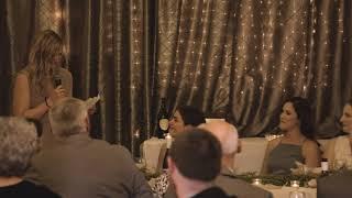 Hannah's speech at Garin & Amy's wedding