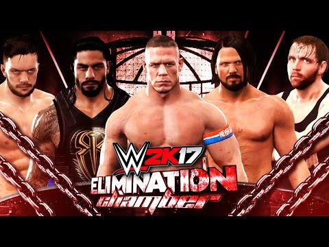 WWE 2K17 Elimination