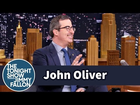 John Oliver Got Bounced from a Sauna and Tickled by the Dalai Lama
