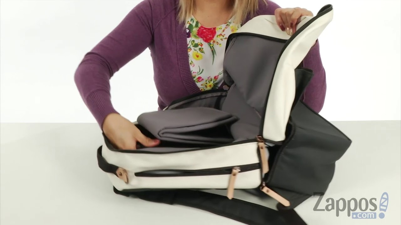 470237bddc9 petunia pickle bottom Glazed Axis Backpack SKU  9034925 - YouTube