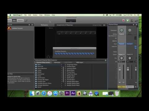 Part 1: MainStage 3: Setting Up Stereo Backing Tracks For Service