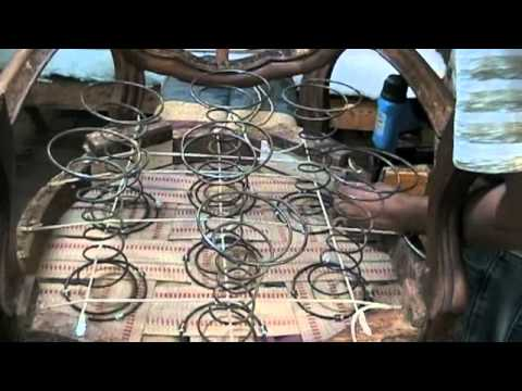 upholstery how to tie springs m4v