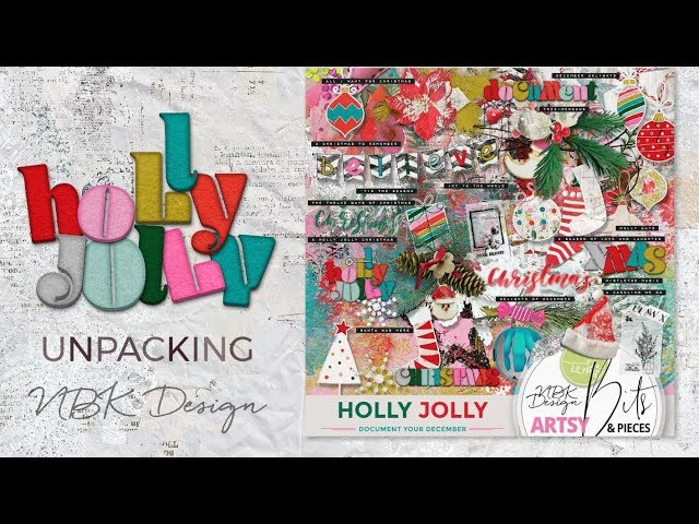 Unpacking and lots of Tips and Tricks with the Holly Jolly Collection