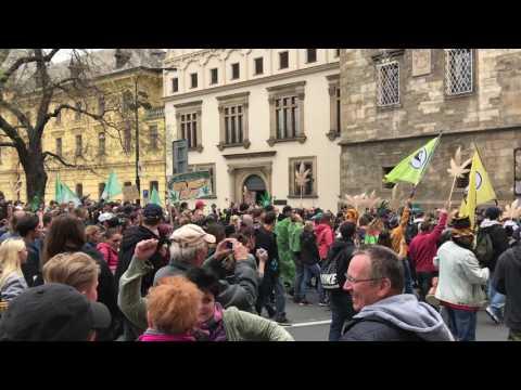 Global Mariuhana March 2017 - Prague