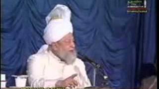 Khatame Naboowat - Hadrat Mirza Tahir Ahmed - Part 3.flv