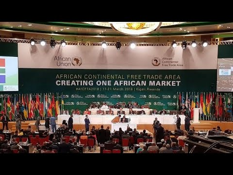 Forty-four countries sign historic Africa Union free trade agreement