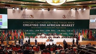 Video Forty-four countries sign historic Africa Union free trade agreement download MP3, MP4, WEBM, AVI, FLV April 2018