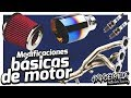 Modificaciones Básicas Para Motor | Filtros Cables Bujías Escape Headers | Blog 1/4 DE MILLA ??