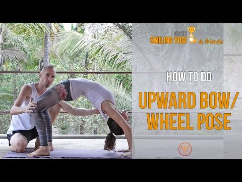 how to do upward bow  wheel pose  tutorial for beginners