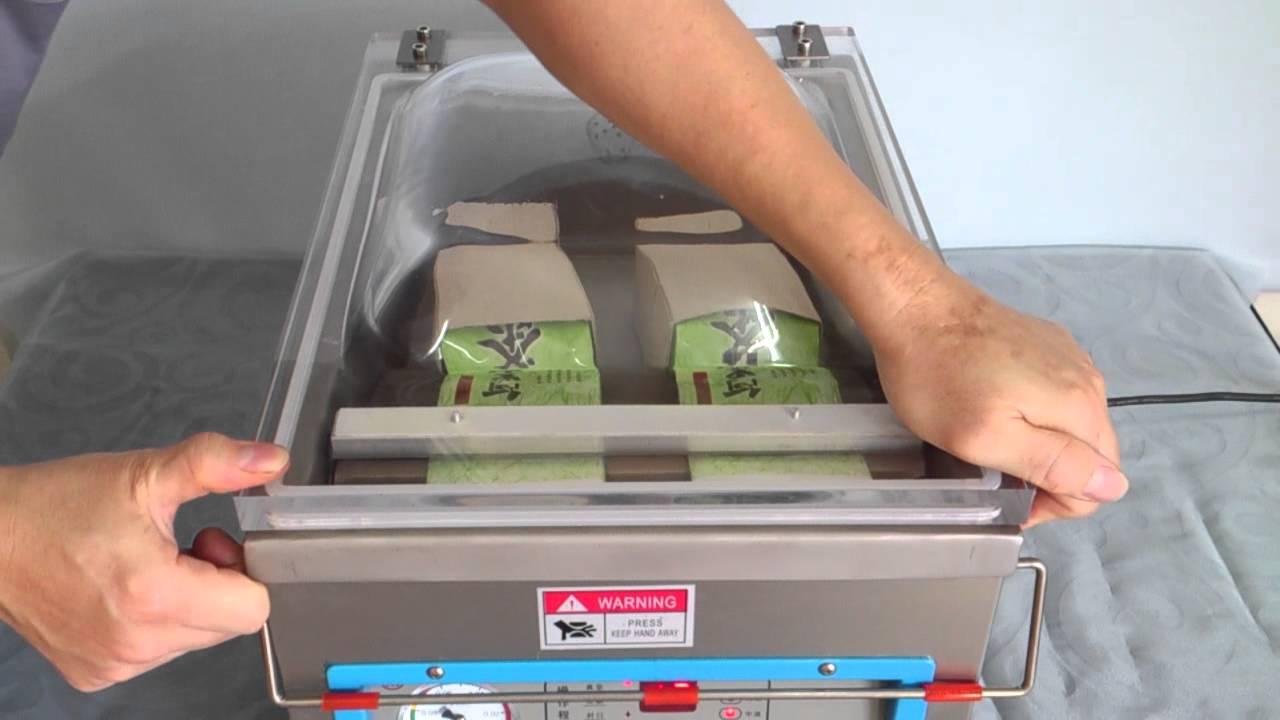 創傑包裝科技 真空包裝機CJ-300T 加深型 干貝 茶葉 臺灣出品 全機不銹鋼 - YouTube